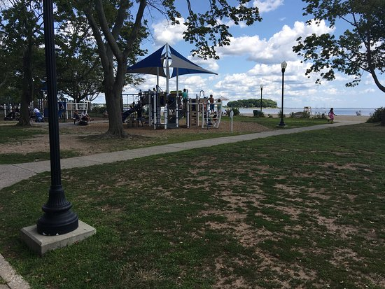 Nice Playground At Calf Pasture Beach When If Kids Need A