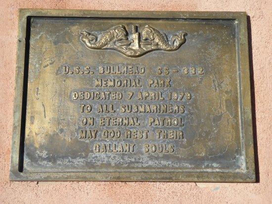 U.S.S. Bullhead Memorial Park