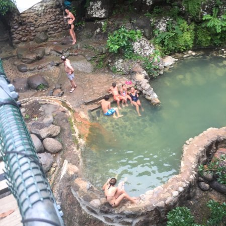 TPV Costa Rica: Thermal springs - in the pool