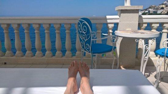 Vistabella : Terras hotel