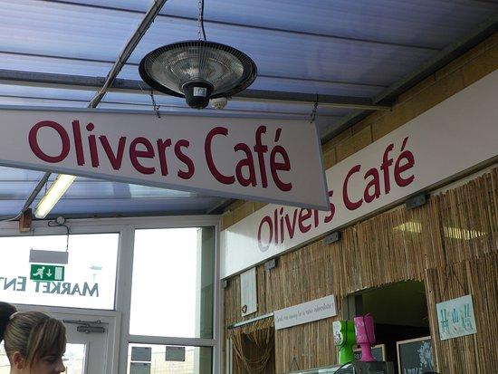 Olivers cafe morecambe: Olivers cafe