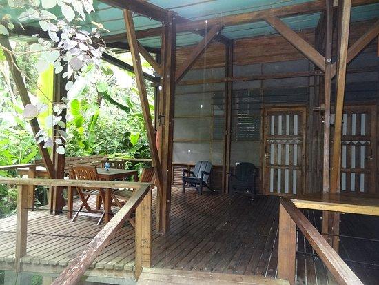 La Kukula Lodge: la terrasse