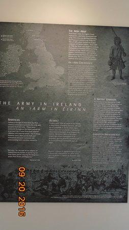 Dungarvan, Ireland: Brief history of the Army in Ireland