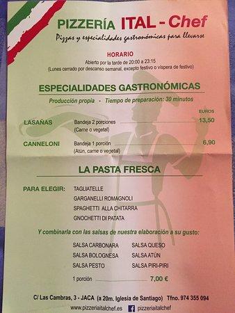 Ital Chef Jaca Restaurant Bewertungen Telefonnummer Fotos