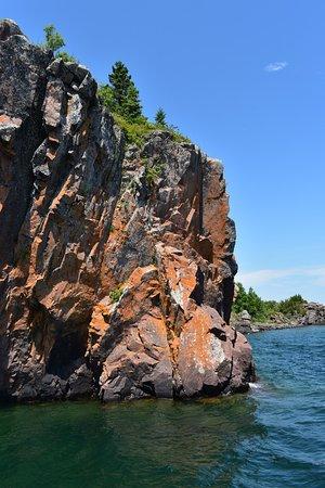Silver Bay, MN: Cliffs on Lake Superior