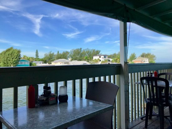 Rod & Reel Pier: View from patio