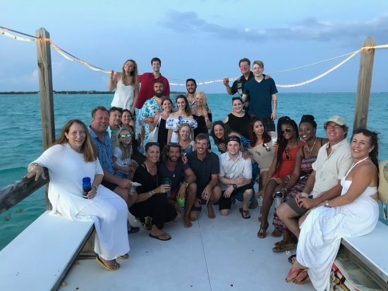 Pirates Point Resort: Our group on the Sunset Cruise