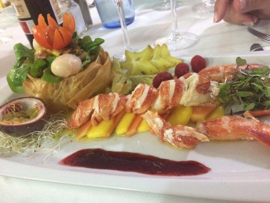 Pepe Rico: Lobster salad
