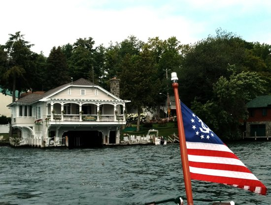 Boathouse Bed and Breakfast A Lake Castle Estate on Lake George Image