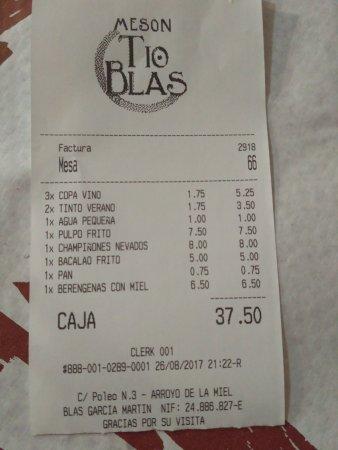 Meson Tio Blas Photo