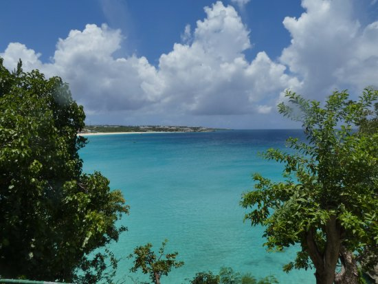 Oyster Pond, St Marteen/St. Martin: Look at that water
