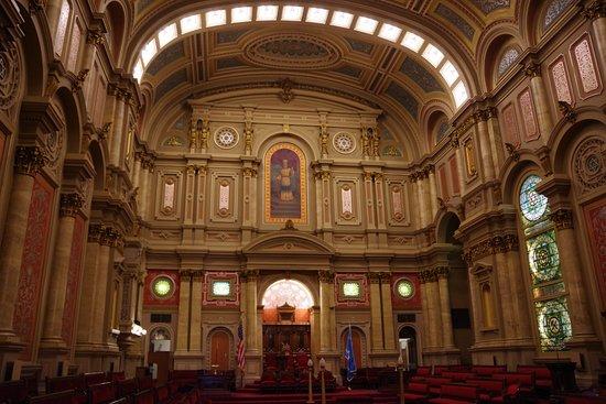 Masonic Temple: Hallway