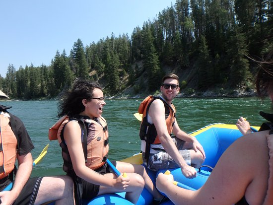 Sands Whitewater and Scenic River Trips - Day Trips: Start of trip