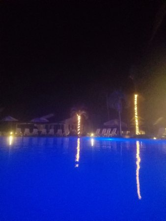 Hotel Villas Playa Samara: HOTEL POOL AT NIGHT