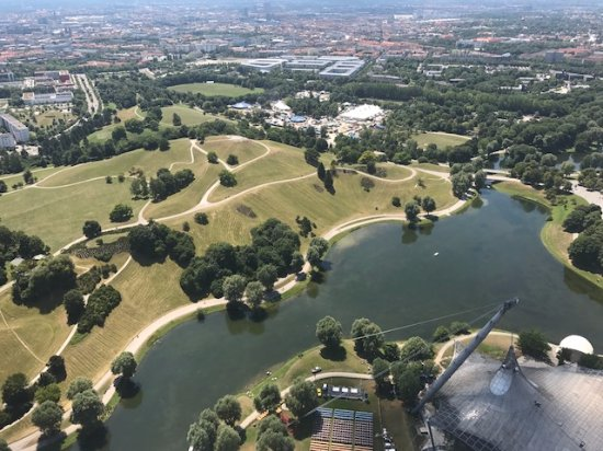 Olympiapark: View from the tower