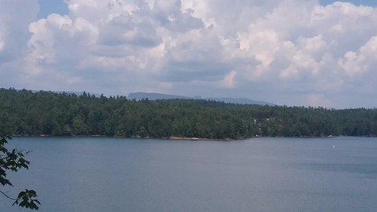 Nebo, NC: View of Lake James