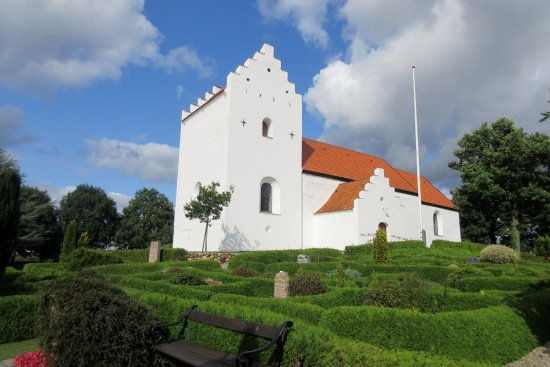 Braedstrup, Dänemark: Set fra sydvest