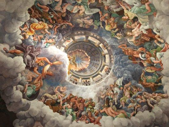 Sala dei giganti foto di palazzo te mantova tripadvisor for Stanza mantova