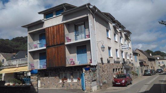 Hotel Le Catala: Vue de l'hôtel.