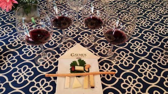 Rutherford, Kalifornien: Caymus private tasting in the original family home.