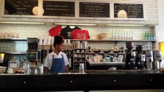 Raymond's: tipica caffetteria americana