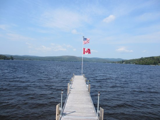 Canaan, VT: From the dock