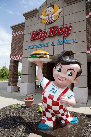 Eastpointe, MI: Big Boys Restaurant Mascot - BIG BOY