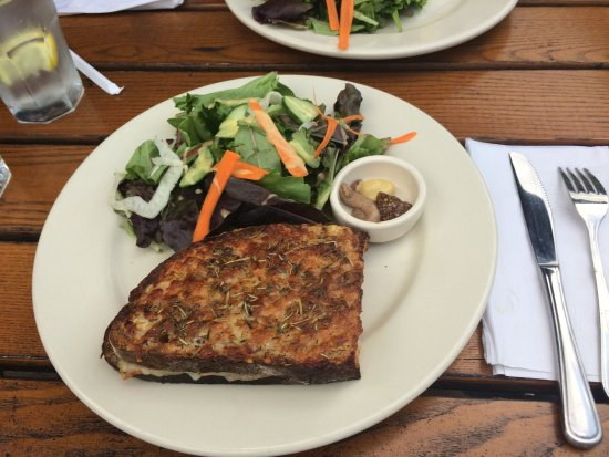 Chevy Chase, MD: Croque monsieur