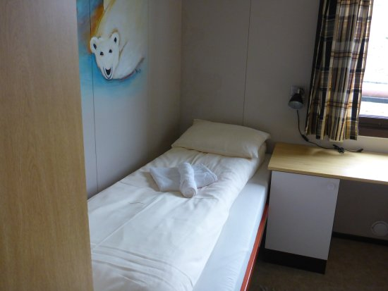 Mary-Ann's Polarrigg : Standard room, single bed no ensuite. Comfy and clean
