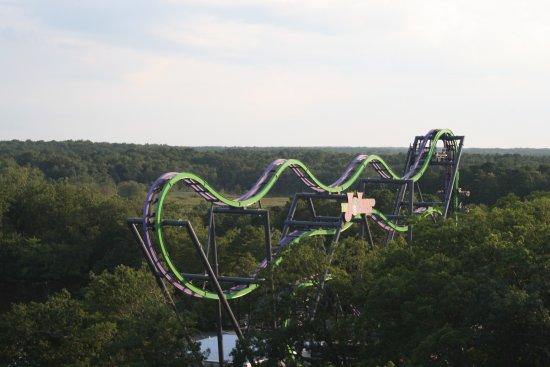 Six Flags Great Adventure: Joker (adrenalina pura)