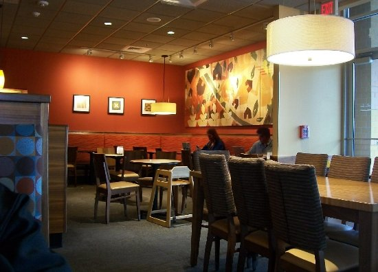 Norridge, IL: seen one panera, seen em all. only this one more intimate (i.e., smallish)