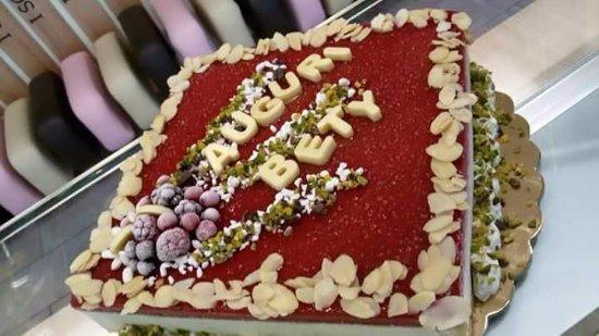 Gelateria I Scream: torta semifreddo