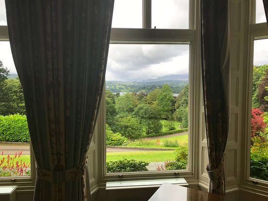 Merewood Country House Hotel: View from the sitting room