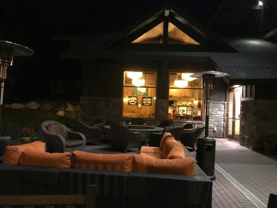 Hampton Inn & Suites Lake Placid : Fire pit