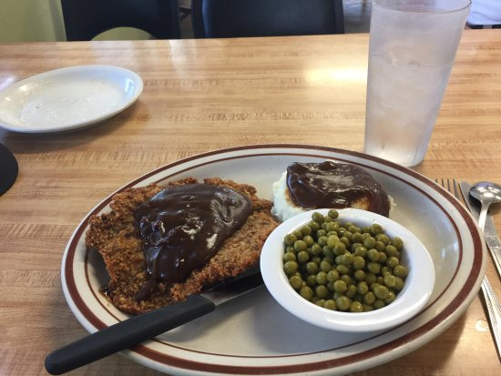 Alturas, Kalifornien: Chicken fried steak