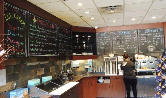 Javalanche Cafe: SERVICE AREA