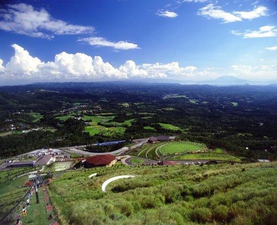 Kirishima, Japón: 鹿児島県を一望する270度の壮大なパノラマ絶景
