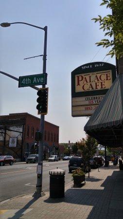 Palace Cafe Menu Ellensburg
