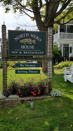 North Hero, VT: Front signage.