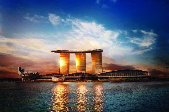 Marina Bay Sands: MBSSunset