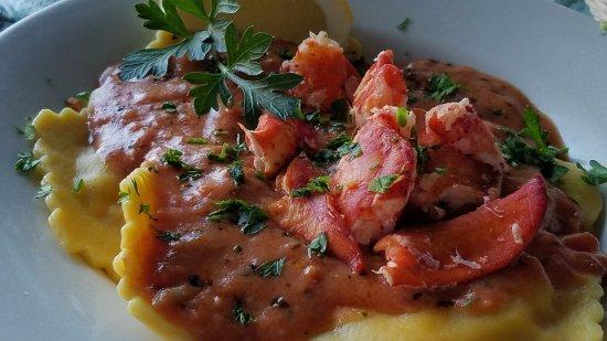 Isle La Motte, VT: Lobster Ravioli