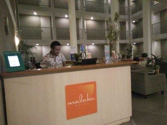 Malaka Hotel: at Lobby