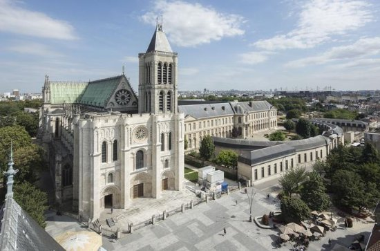 Basilica Cathedral of Saint-Denis...
