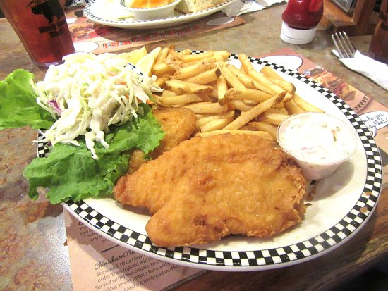 Fish and Chips, Black Bear Diner, Milpitas, Ca
