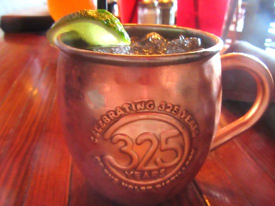 Moscow Mule, The Cats Restaurant an Tavern, Los Gatos, CA