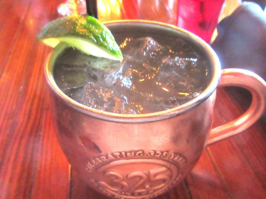 Moscow Mule, The Cats Restaurant, Los Gatos, CA