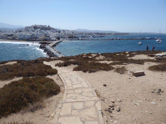 View of Chora from Portara
