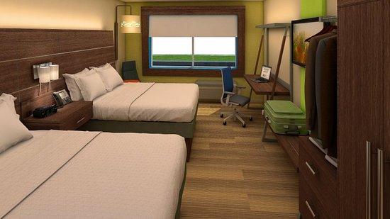 Platteville, Wisconsin: Queen Bed Guest Room