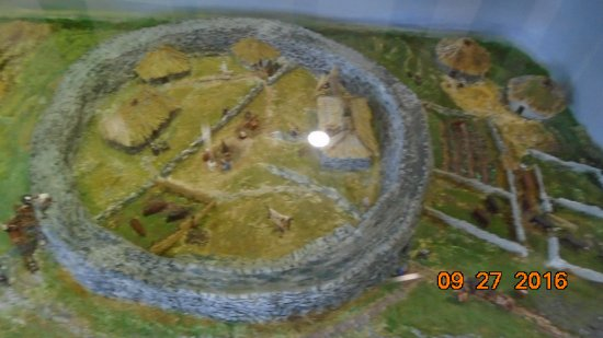 Caherconnell, Ierland: Model of farmstead
