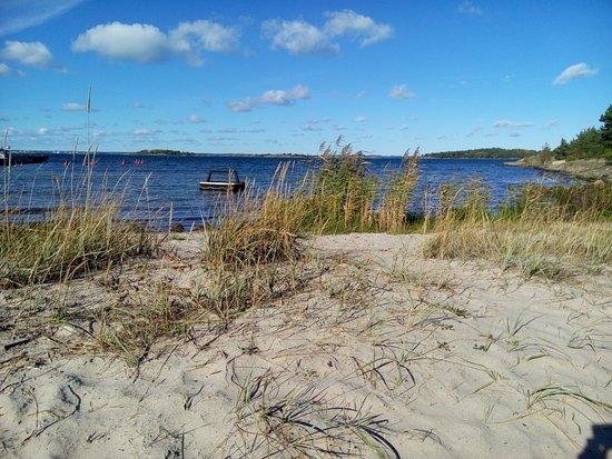 Nattaro Island, Szwecja: Earth, sky and ocean